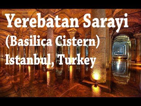 The Basilica Cistern (Yerebatan Sarayı), Istanbul, Turkey, 10/16/2012