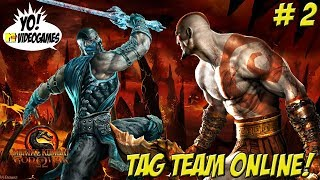 Tag Team Online With Kratos Mk 9 Part 2 Yoaudiogames