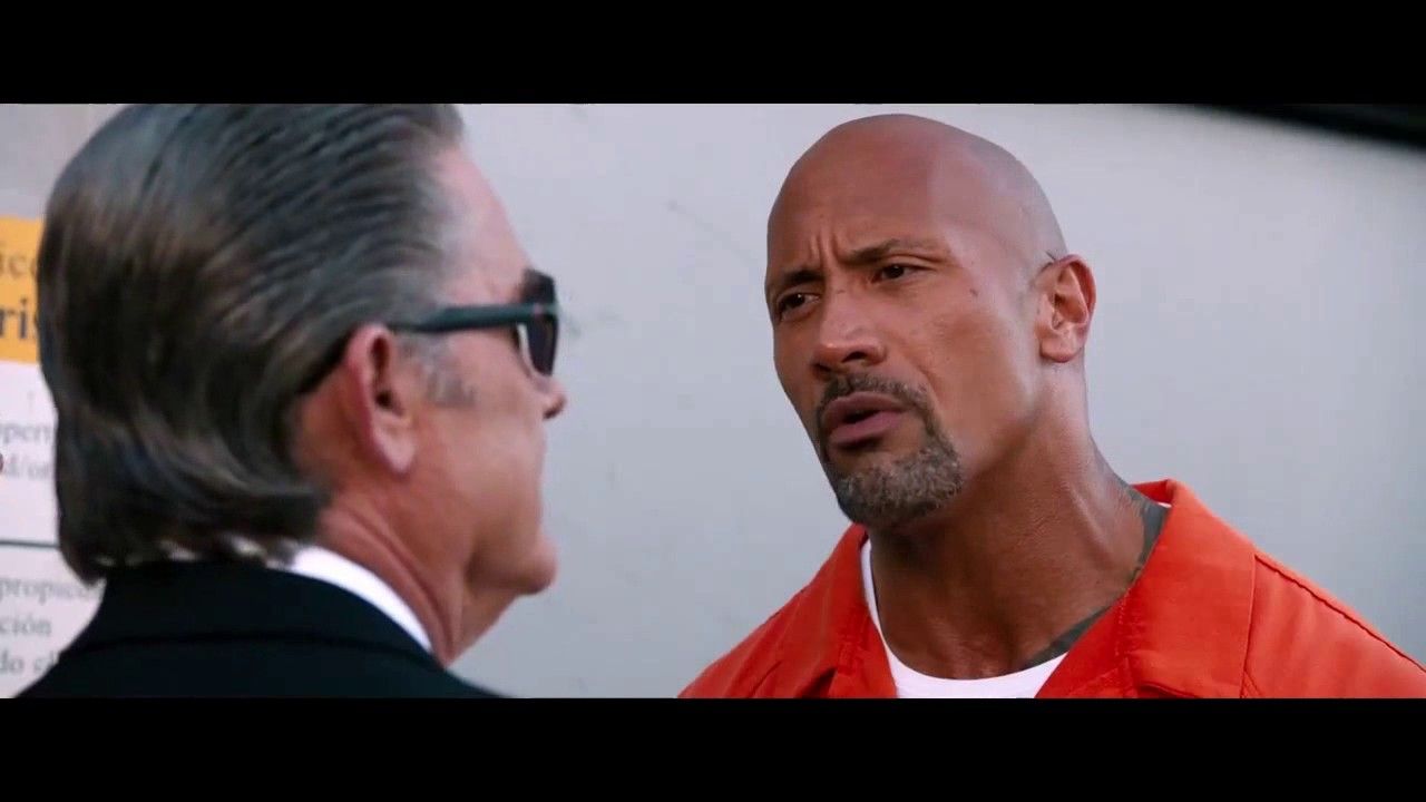 Download FURIOUS 8 HOBBS AND MR  NOBODY OUTSIDE JAIL CLIP
