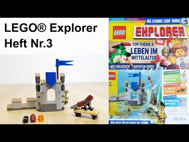 LEGO® Explorer Heft Nr. 3 - Thema: Leben im Mittelalter