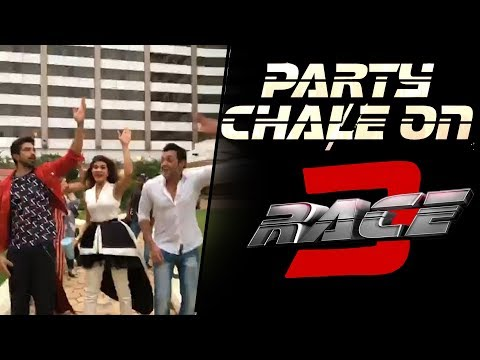 Party Chale On Song Launch | Race 3 | Salman Khan | Mika Singh, Iulia Vantur | Vicky-Hardik