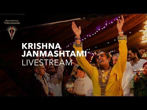 Krishna Janmashtami with Paramahamsa Sri Swami Vishwananda