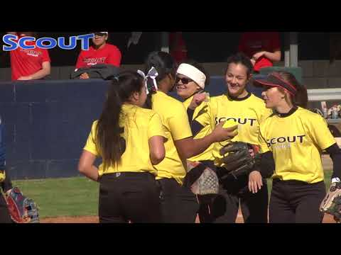 Game 2 Scout Softball Winter Nationals 2018 Red VS Yellow