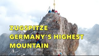 Zugspitze, Alps: Germany's Highest Mountain