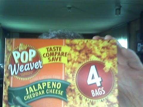 Pop Weaver S Jalapeno Cheddar Cheese Microwave Popcorn Plus 2 Others A Review Triple Threat
