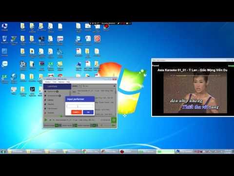 [Letmkara] Hướng dẫn biến máy tính thành hệ thống Karaoke chuyên ngiệp đầy đủ tính năng (remote,2MH)