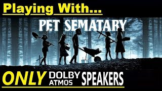 Dolby Atmos - Sound Test #10 - Playing with ONLY in-ceiling Speakers! - Klipsch & SVS Home Theater