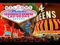 Walking Fremont street Downtown Las Vegas in 4K