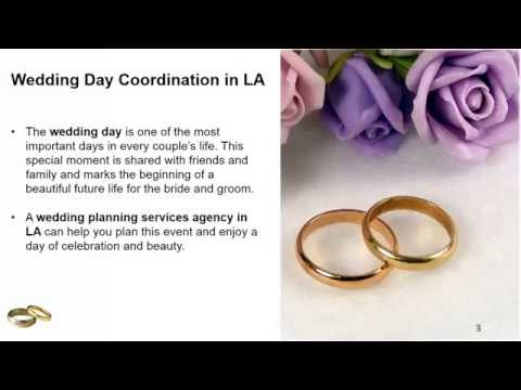 Wedding Planning Services In LA