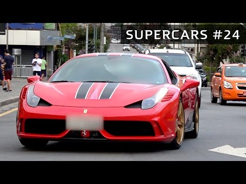 ⚡ SUPERCARS #24 - Ferrari 458 Speciale, BMW 1M, M3, M4, M6, Porsche 911 Turbo, Audi RS6!