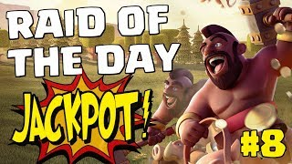 RAID OF THE DAY #8 - TH9 LALOONION - GREAT LOOT IN CRYSTAL | Mister Clash, CLASH OF CLANS