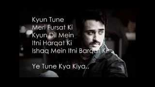 Yeh Tune Kya Kiya Lyrics (Once Upon A Time In M...