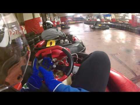 OnBoard kart | Kartata Novara Rally Group al Mokart di Cinisello Balsamo del 25/11/16