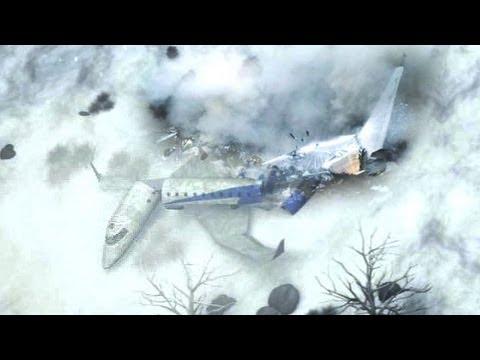 ポーランド空軍 Tu-154 (Tu-154M) 事故機墜落前映像 (飛行機事故) / 2 days before air crash: Polish airforce   by takhas55