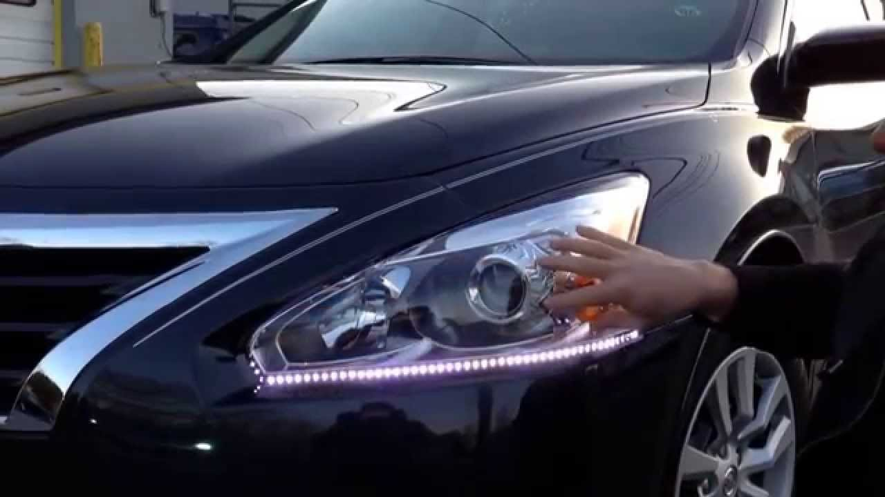 Led Lighting Kit On A 2014 Nissan Altima Installed By