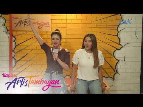 ArtisTambayan: Jazz Ocampo And Marika Sasaki Funny 'KanTulaan' Challenge