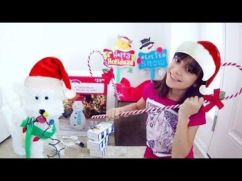 QUERO UM NATAL IGUAL AO DO POLO NORTE! ★ Mostrando a Decoração Natalina para minha Casa no Canadá