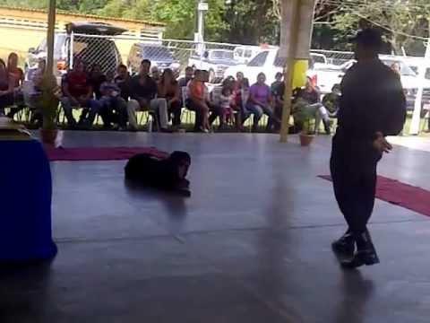 brigada canina policia de barinas venezuela. k9 galileo.