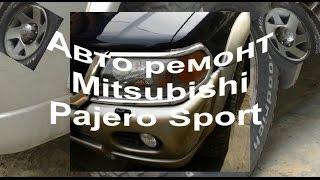 █ Как заменить задние тормозные колодки, Mitsubishi Pajero Sport, разборка суппорта.