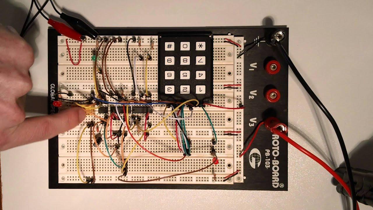 555 Timer Based Electronic Code Lock Circuit Circuits 555timervoltagecontrolledoscillator