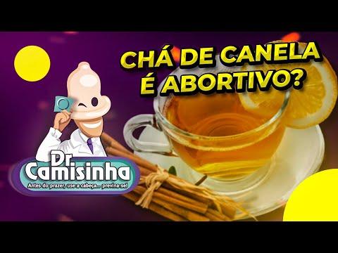 CHÁ DE CANELA É ABORTIVO?