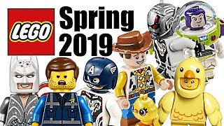 Top 10 Most Wanted LEGO Sets of Spring 2019!