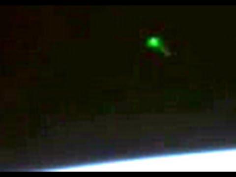 Nuove immagini UFO che arrivano dalla Stazione Spaziale Internazionale