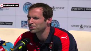 Petr Cech First Arsenal Press Conference Full