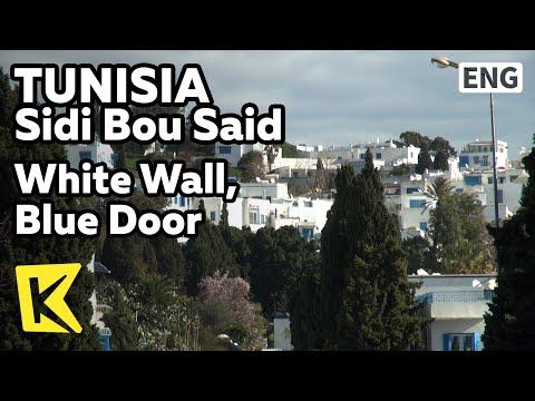【K】Tunisia Travel-Sidi Bou Said[튀니지 여행-시디부사이드]하얀 벽과 파란 문 마을/White Wall/Village/House/Sidi Bou Said
