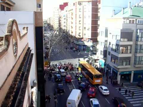 No nos mires, únete - Corte calle Ángel Guimerá