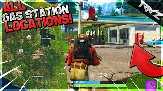 "New SECRET ""Visit Different Gas Stations"" Week 5 Challenge - Fortnite All Gas Station Locations"