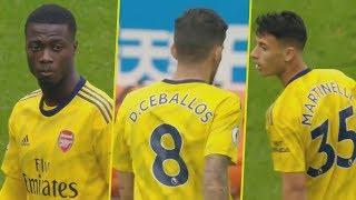 Watch Arsenal's new signings' debut - Pepe, Ceballos, Martinelli vs Newcastle