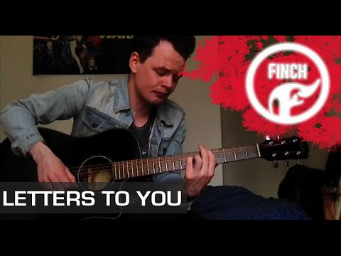Finch - Letters To You Acoustic Cover By Thomas Kavanagh