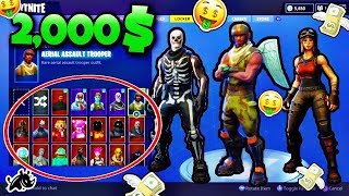 BEST FORTNITE LOCKER l 110+ SKINS l 50+ AXES l 30+ GLIDERS (OG SKINS)