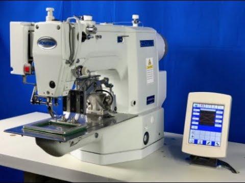 Dematron DM40 Programmble 40mmx 40mm Sew Area YouTube Inspiration Juki Ams224e Programmable Sewing Machine