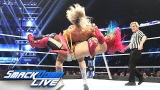 Charlotte Flair vs. Asuka: SmackDown LIVE, Dec. 11...