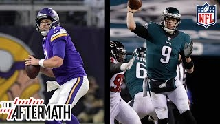 NFC Championship: Who Do you Trust More Case Keenum or Nick Foles? | The Aftermath | NFL