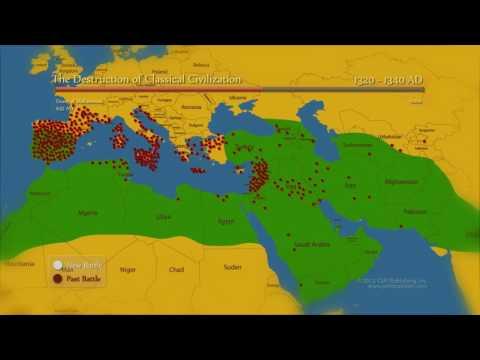 Histoire de la Conquête islamique en infographie - Le Jihâd en expansion