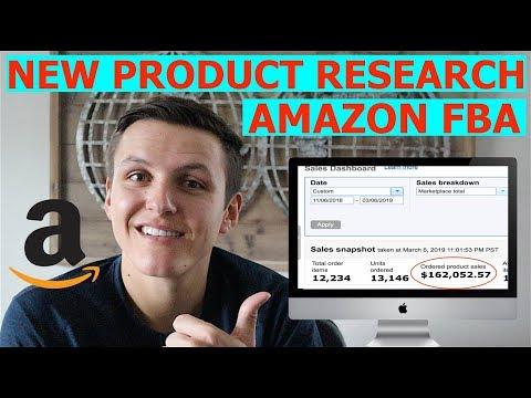 NEW 2019 Amazon FBA Product Research Technique
