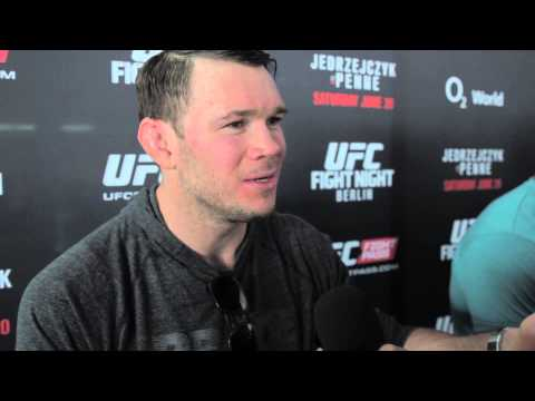 UFC Berlin media scrum || Forrest Griffin