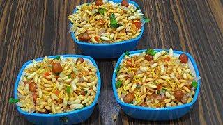 MURI MIXTURE/how to make andhra muri mixture/puffed rice salad recipe