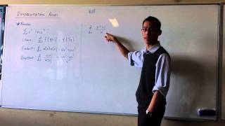 Review - Basic Differentiation Rules