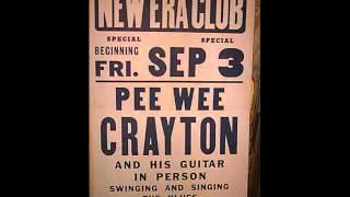 Pee Wee Crayton   Poppa Stoppa 1951