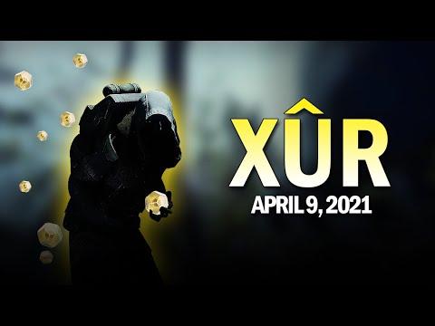 Xur Location, Exotics & Exotic Cipher Quest 4-9-21 / April 9, 2021 [Destiny 2]
