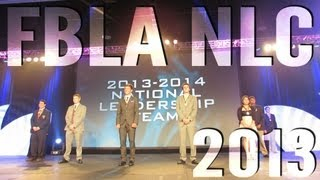 2013 FBLA NLC (National Leadership Conference)