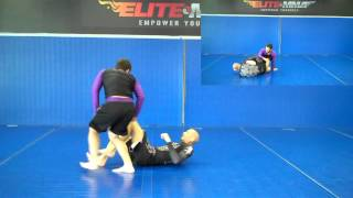 Knee Bar from Knee on Belly