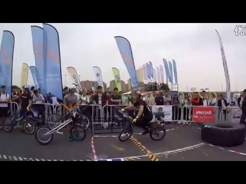 [ JUMP bikes ] ZhaoXuan Aurélien Fontenoy Trial Comp in ShangHai May 2016 www.JUMPbikes.CN
