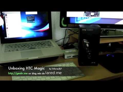 Unboxing HTC Magic - Funcionando con Telcel en Mexico