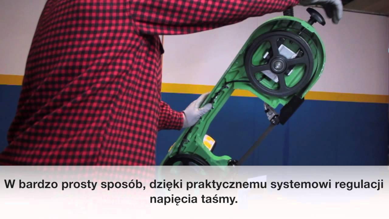 Zupełnie nowe Ręczna piła taśmowa przecinarka do metalu mobilna NEBES OPTIMUM CY92