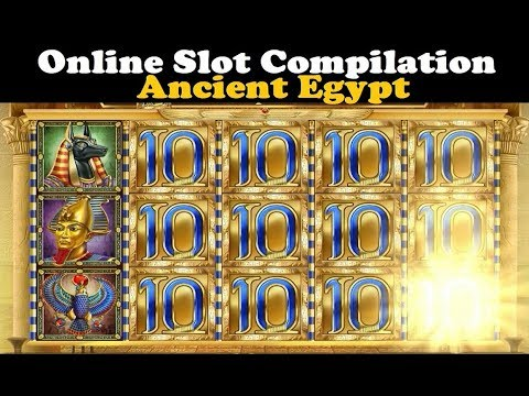 Online Slot Compilation (Ancient Egypt Slots Edition)